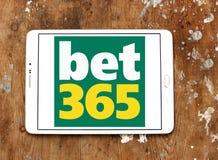 Играя в азартные игры логотип компании Bet365 Стоковая Фотография