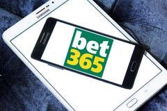 Играя в азартные игры логотип компании Bet365 Стоковые Фотографии RF