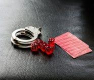 Играя в азартные игры наркомания Стоковое Изображение RF