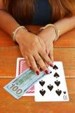 Играя в азартные игры наркомания Стоковое Фото