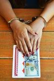 Играя в азартные игры наркомания Стоковая Фотография