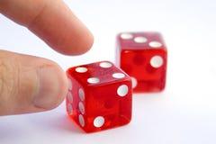 играя в азартные игры проблема Стоковая Фотография