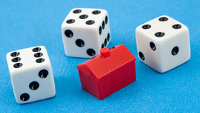 играя в азартные игры согрешение Стоковое Изображение RF