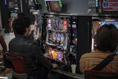 Играя в азартные игры токио Стоковое Изображение RF