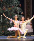 Играя главные роли вызов актеров на сцену - Щелкунчик балета стоковые изображения