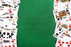 Играя изолированные карточки Стоковые Фото
