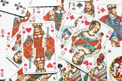 Играя карточки, карточная игра стоковое фото rf