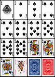 Играя карточки - костюм лопат Стоковое фото RF