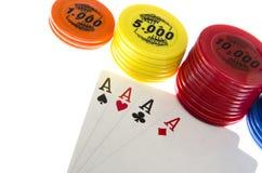Играя карточки Стоковое Изображение RF