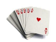 Играя карточки Стоковые Фото