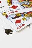 Играя карточки стоковая фотография rf