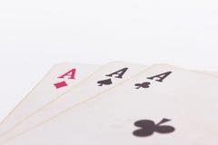 Играя карточки Стоковое Фото