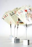 Играя карточки Стоковая Фотография