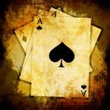 Играя карточки Стоковые Фотографии RF