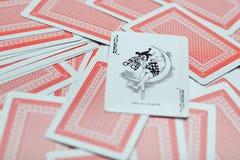 Играя карточки 2 Стоковое Изображение