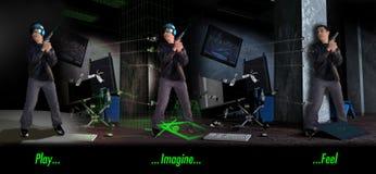 Игра… Представьте… Чывство Стоковое Изображение RF