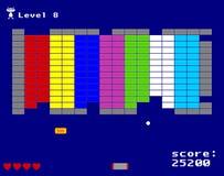 Игра аркады проламывания Стоковое фото RF