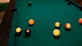 Игра бассейна сток-видео