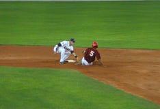 игра бейсбола США Венесуэла Стоковые Изображения RF