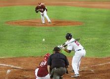 игра бейсбола США Венесуэла Стоковые Фотографии RF