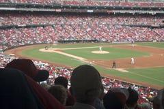 игра бейсбола Стоковое Изображение