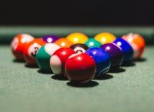 Игра биллиардов Стоковое фото RF
