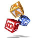 игра блоков падая Стоковое фото RF