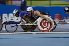Игра 2016 Бразилии - Рио-де-Жанейро - Paralympic атлетика в 1500 метров Стоковое фото RF