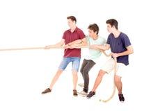 Игра веревочки Стоковое Изображение RF