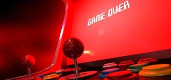 Игра видеоигры сверх Стоковые Фотографии RF
