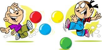 Игра в шариках Стоковое Фото