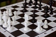 Игра в шахматы Стоковая Фотография