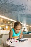 Игра в шахматы outdoors Стоковое Изображение RF