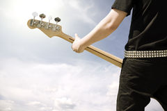 игра гитары Стоковые Изображения