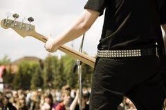 игра гитары Стоковое фото RF