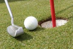 игра гольфа Стоковое фото RF