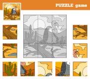 Игра головоломки для детей с животными (хищник) бесплатная иллюстрация