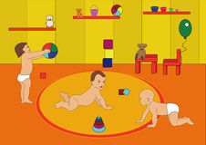 игра детей Стоковое Изображение RF