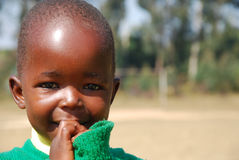 Игра детей детского сада деревни Pomerini-Tan Стоковое Изображение