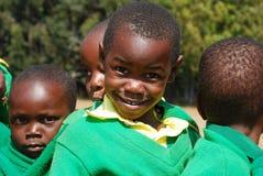 Игра детей детского сада деревни Pomerini-Tan Стоковое Изображение RF