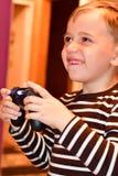 игра играя видео Стоковая Фотография RF
