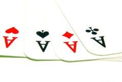 игра карточек Стоковая Фотография