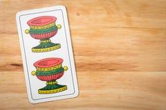 Игра карточек 2 Стоковые Изображения