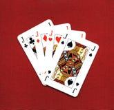 игра карточек Стоковые Фотографии RF