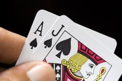 игра карточек Стоковое Изображение