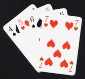 игра карточек Стоковые Изображения RF