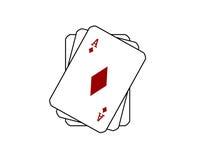 игра карточек Стоковая Фотография RF