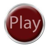 игра кнопки Стоковые Изображения RF