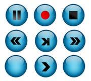 игра кнопок Стоковое Изображение RF