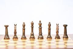 Игра комплекта шахмат Стоковая Фотография RF